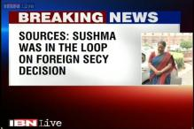 I was very much a part of decision to appoint Jaishankar as Foreign Secretary: Sushma Swaraj