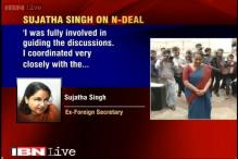 Sujatha Singh hits out at government for 'maligning reputation'