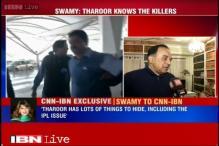 Sunanda Pushkar murder: War of words between husband Shashi Tharoor, Subramanian Swamy
