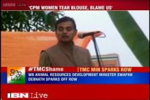 TMC leader sparks controversy, says CPM women cadre tear off their blouses, make false molestation cases