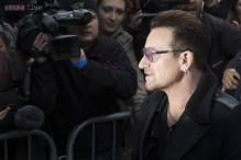 U2's Bono says he may never play guitar again