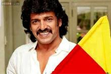 Snapshot: Kannada star Upendra heads to the Himalayas for 'Uppi 2'
