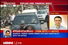 Robert Vadra's Skylight hospitality issued tax notice, to explain his controversial land deals: Sources