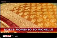 Michelle Obama to be gifted 100 Banarasi sarees