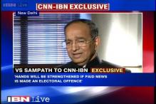 Chief Election Commissioner VS Sampath retires on Thursday