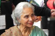 Waheeda Rehman: Not friends with any of the current actors except for Abhishek Bachchan