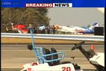 Wing of aircraft damaged at Aero India show, all onboards safe