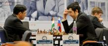 Viswanathan Anand draws with Vladimir Kramnik in Zurich Chess Challenge