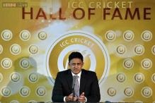 Anil Kumble inducted into ICC Hall of Fame