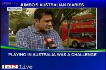 Anil Kumble turns the clock back on his Australia diaries