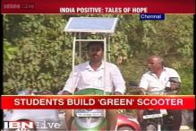 As PM Modi pushes for renewable energy, Chennai engineering students invent eco-friendly scooter