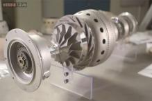 The world's first 3D-printed jet engine unveiled