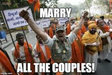14 reasons why couples should be thankful, if they are caught by the Hindu Mahasabha on the 14th of February