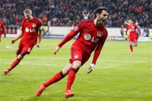 Leverkusen edge Atletico 1-0 in first leg of last-16 Champions League tie