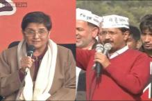 Watch: War of words between Arvind Kejriwal, Kiran Bedi