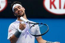 Fabio Fognini reaches 2nd round at Rio Open clay-court event