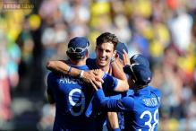 Steven Finn takes first hat-trick of 2015 World Cup