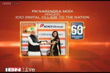 Watch: PM Modi dedicates 'ICICI Digital Village' to nation