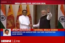 India, Sri Lanka sign civil nuclear deal, Modi calls it a sign of trust