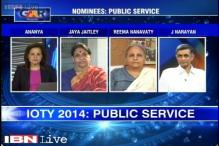 Indian of the year 2014: Public Service nominees