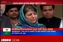 J&K to have BJP-PDP government as Mehbooba, Shah finalise Common Minimum Program