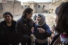 Angelina Jolie opens UK centre to fight warzone violence against women