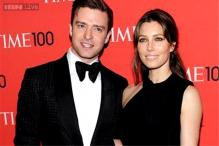 Justin Timberlake shares baby news on his 34th  birthday; uploads a photo of Jessica Biel with a baby bump