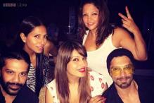 Photos: Karan Singh Grover celebrates his birthday with Bipasha Basu, friends in Goa