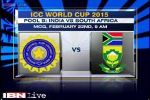ICC World Cup: South Africa start marginal favourites against India