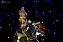 Katy Perry delivers a spectacular halftime show at the Super Bowl with Missy Elliott, Lenny Kravitz
