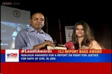 CNN-IBN's Runjhun Sharma bags Laadli award for gender sensitivity