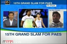 Special to win the Australian Open mixed doubles with Hingis: Paes