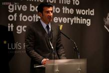 Luis Figo proposes expanded World Cup, spreading more FIFA cash