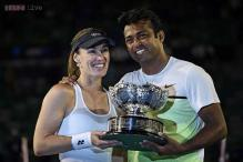 Leander Paes wins Australian Open mixed doubles with Hingis, his 15th Grand Slam