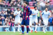 Barcelona stunned by Malaga at home in Spanish league