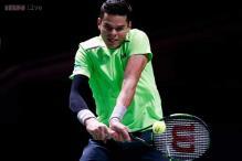 Top-seeded Milos Raonic upset by Italy's Simone Bolelli in Open 13