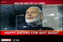 Modi suit goes for Rs 4.31 crore