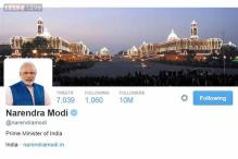 Narendra Modi crosses 10 million follower mark on Twitter