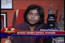 News 360: Activist shames rapists, attacked