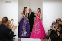 First show since designer Oscar de la Renta's death is 'emotional'