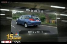 2015 CNBC-TV18 Overdrive Awards