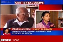 Rationalist Govind Pansare received threats, claims his family