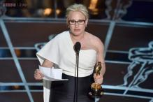 Oscars 2015: Patricia Arquette wins best supporting actress for 'Boyhood'