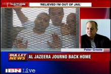 Freed Al Jazeera journalist Peter Greste back home