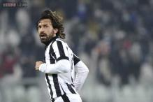 Juventus midfielder Andrea Pirlo out for three weeks - reports