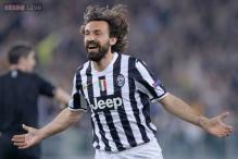 Champions League: Pirlo sees chance for Juve to make the step up