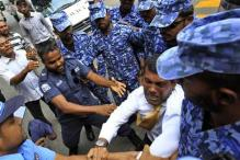 Former Maldivian president Nasheed dragged by security forces, to remain in jail till final verdict