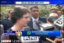 AAP, an important opponent in Delhi polls: Priyanka Gandhi Vadra