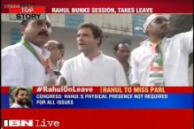 Rahul Gandhi disgruntled as Congress veterans reject his views, skips Parliament session