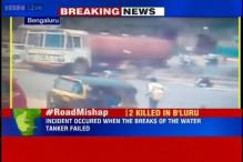 Road mishap in Bengaluru, water tanker mows down 2 people